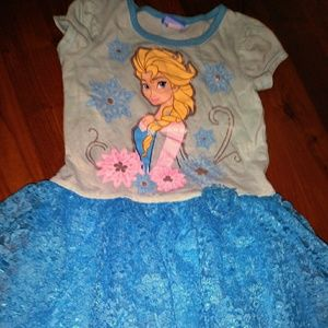 Frozen Dress 👗💞